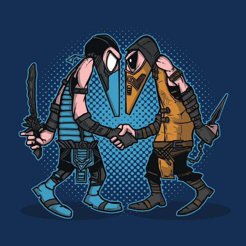 Mortal Kombat Spies Sub Zero Vs Scorpion Spy Vs Spy Women's Vest by AndreusD - Cloud City 7