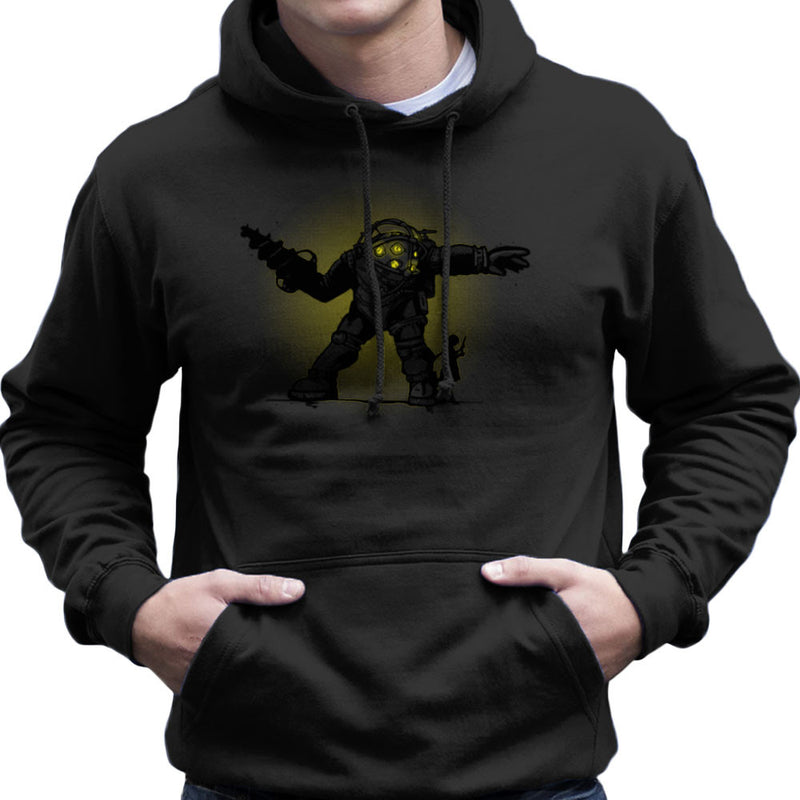 Pair Bond Big Daddy Little Sister BioShock Men's Hooded Sweatshirt by AndreusD - Cloud City 7