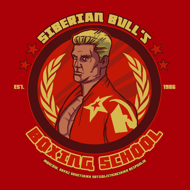 Siberian Bulls Boxing School Ivan Drago Rocky IV  Men's T-Shirt Men's T-Shirt Cloud City 7 - 3