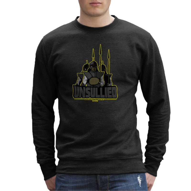 Unsullied Specialised Infantry Astapor Game of Thrones Men's Sweatshirt by AndreusD - Cloud City 7
