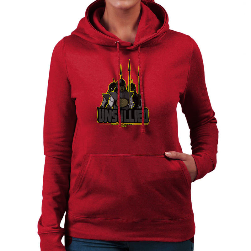 Unsullied Specialised Infantry Astapor Game of Thrones Women's Hooded Sweatshirt by AndreusD - Cloud City 7