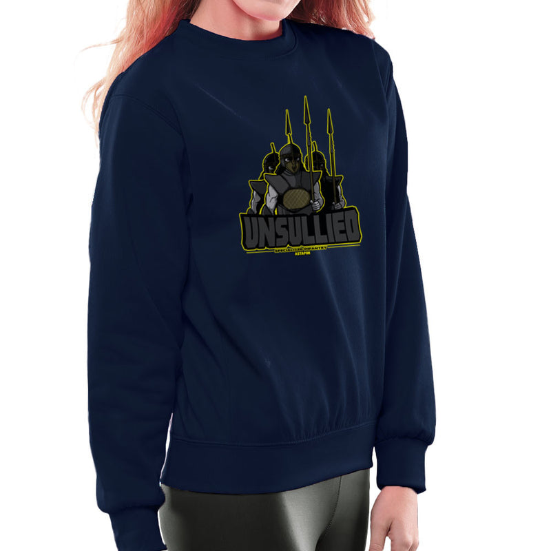 Unsullied Specialised Infantry Astapor Game of Thrones Women's Sweatshirt by AndreusD - Cloud City 7