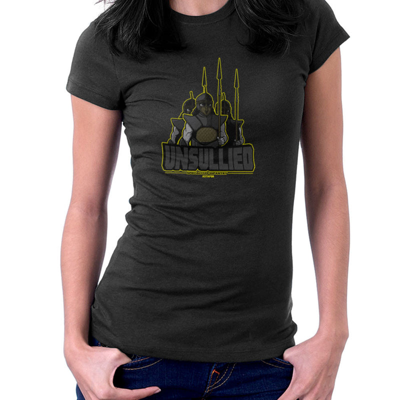 Unsullied Specialised Infantry Astapor Game of Thrones Women's T-Shirt Women's T-Shirt Cloud City 7 - 2