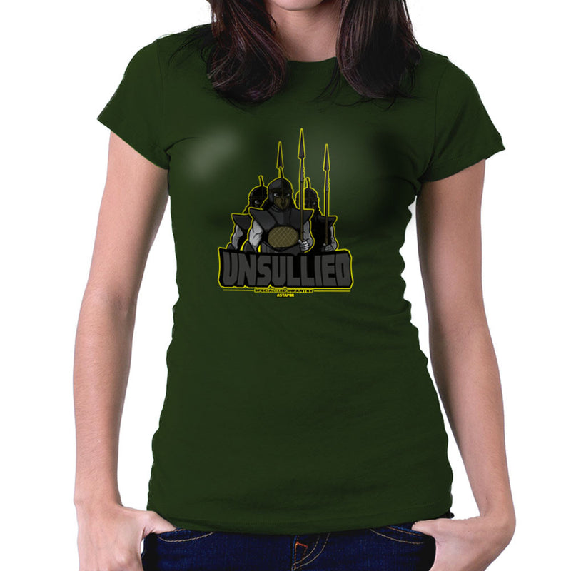 Unsullied Specialised Infantry Astapor Game of Thrones Women's T-Shirt Women's T-Shirt Cloud City 7 - 13