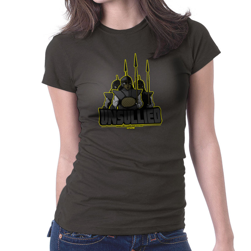 Unsullied Specialised Infantry Astapor Game of Thrones Women's T-Shirt Women's T-Shirt Cloud City 7 - 4