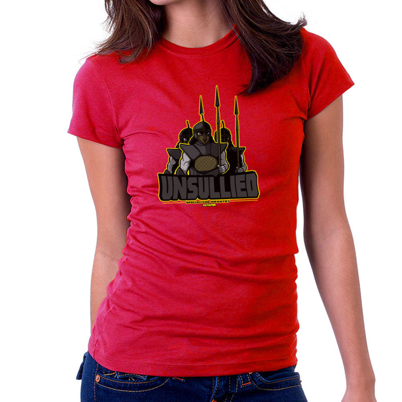 Unsullied Specialised Infantry Astapor Game of Thrones Women's T-Shirt Women's T-Shirt Cloud City 7 - 15