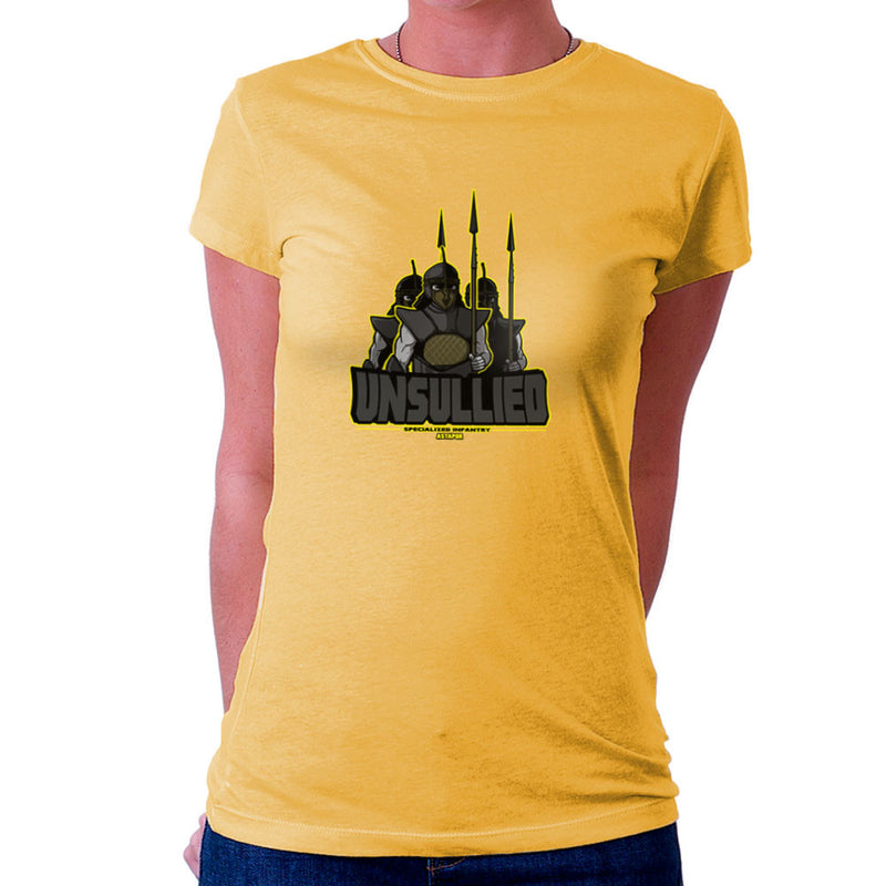 Unsullied Specialised Infantry Astapor Game of Thrones Women's T-Shirt Women's T-Shirt Cloud City 7 - 18