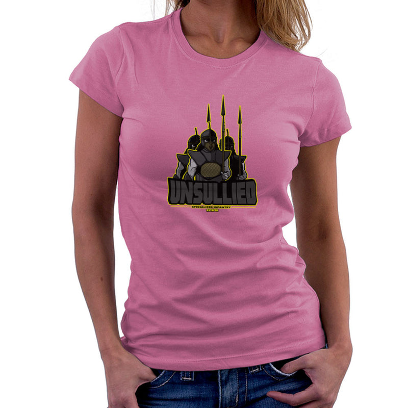 Unsullied Specialised Infantry Astapor Game of Thrones Women's T-Shirt Women's T-Shirt Cloud City 7 - 20