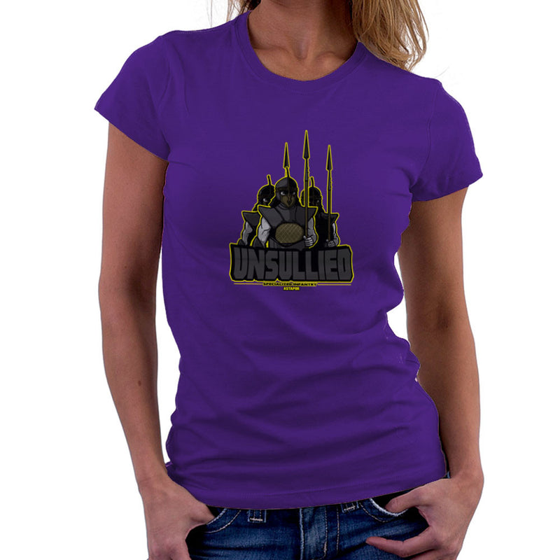 Unsullied Specialised Infantry Astapor Game of Thrones Women's T-Shirt Women's T-Shirt Cloud City 7 - 19