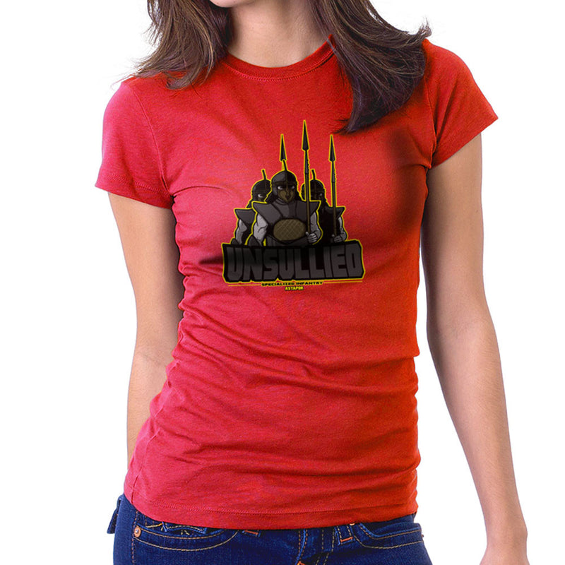 Unsullied Specialised Infantry Astapor Game of Thrones Women's T-Shirt by AndreusD - Cloud City 7