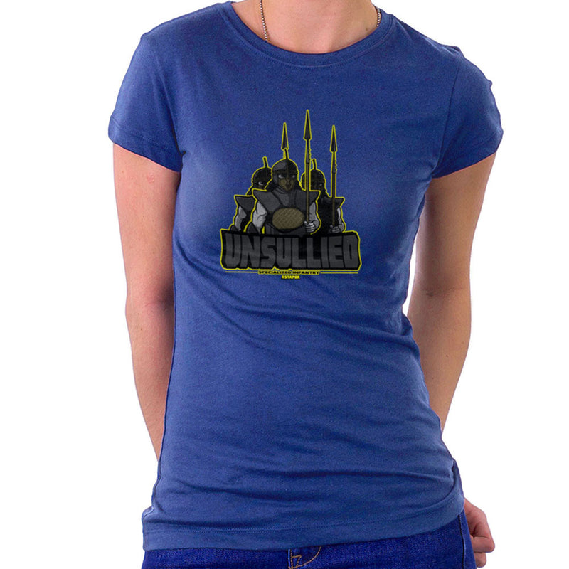 Unsullied Specialised Infantry Astapor Game of Thrones Women's T-Shirt Women's T-Shirt Cloud City 7 - 8