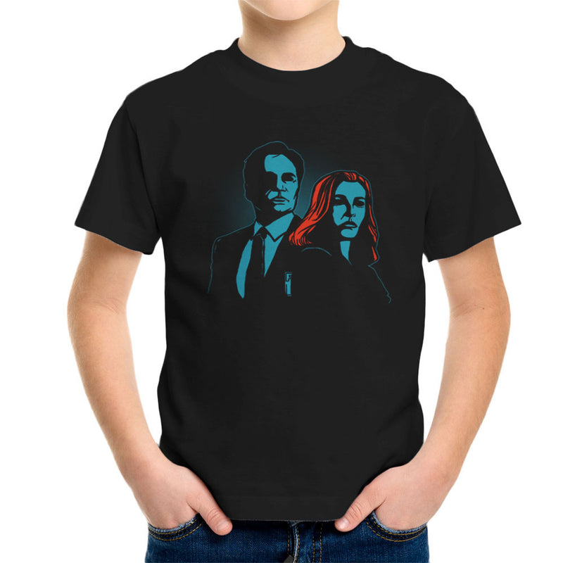 Truth Seekers Mulder and Skully X Files Kid's T-Shirt by AndreusD - Cloud City 7