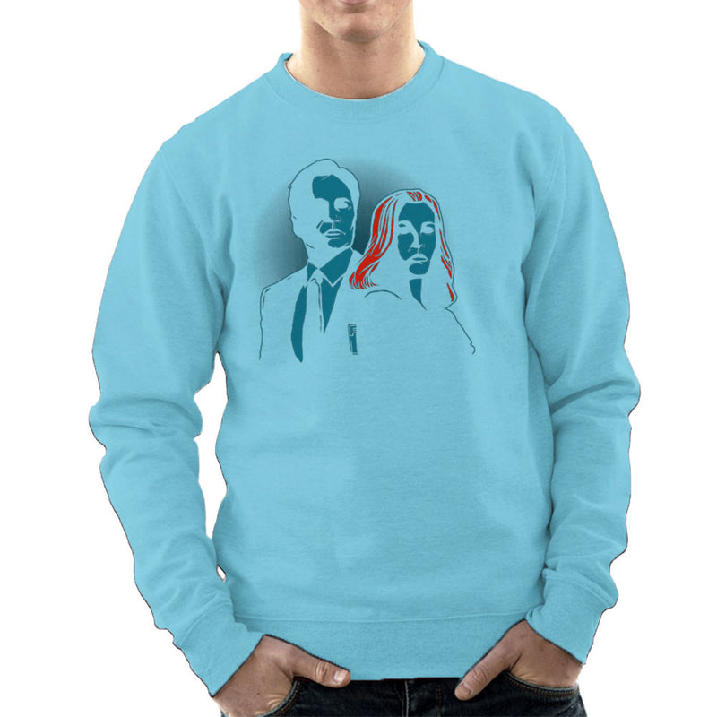 Truth Seekers Mulder and Skully X Files Men's Sweatshirt by AndreusD - Cloud City 7