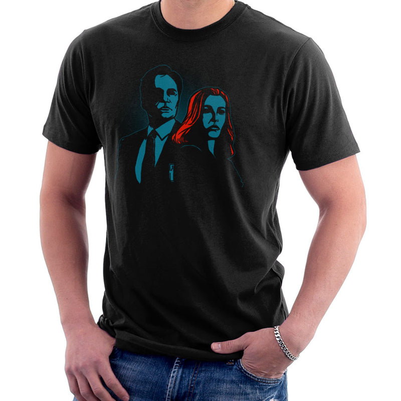 Truth Seekers Mulder and Skully X Files Men's T-Shirt by AndreusD - Cloud City 7