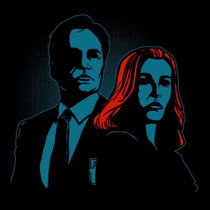 Truth Seekers Mulder and Skully X Files design Cloud City 7 - 1