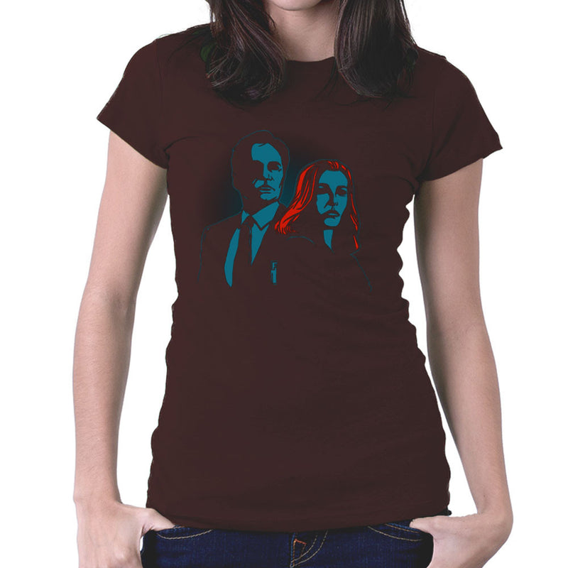 Truth Seekers Mulder and Skully X Files Women's T-Shirt by AndreusD - Cloud City 7