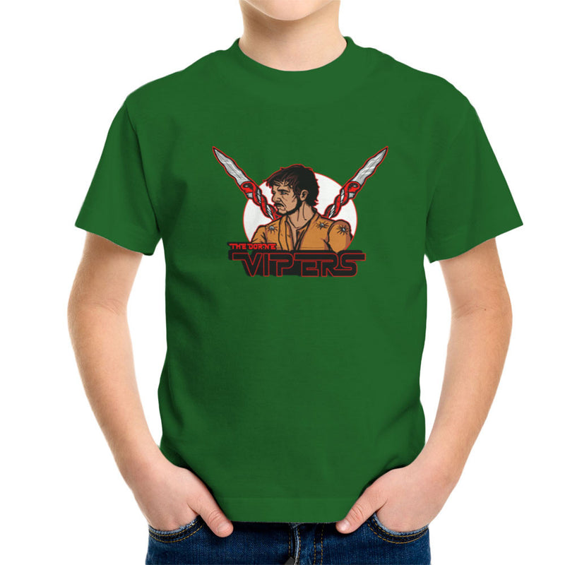 The Dorne Vipers Prince Oberyn Martell Red Viper Game of Thrones Kid's T-Shirt by AndreusD - Cloud City 7