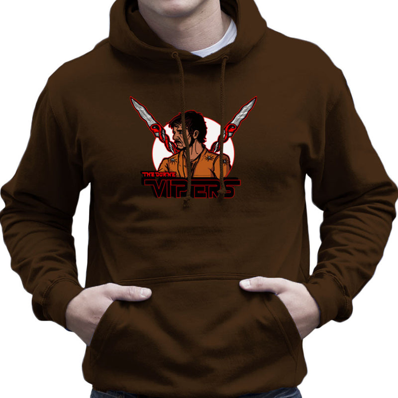 The Dorne Vipers Prince Oberyn Martell Red Viper Game of Thrones Men's Hooded Sweatshirt by AndreusD - Cloud City 7