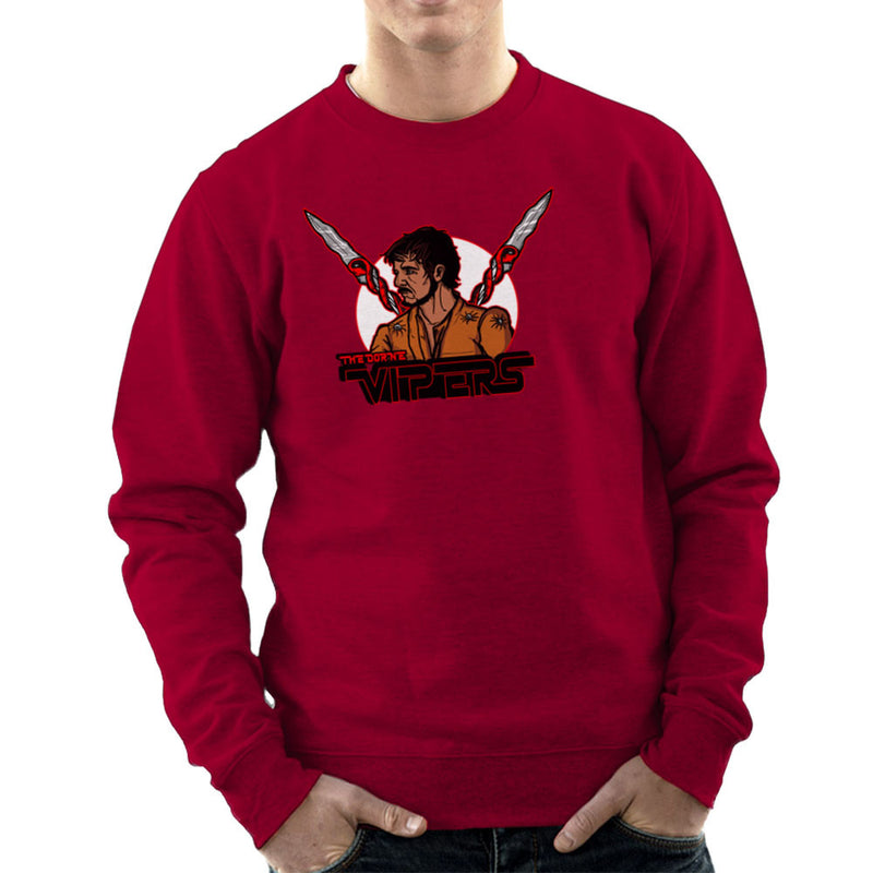 The Dorne Vipers Prince Oberyn Martell Red Viper Game of Thrones Men's Sweatshirt by AndreusD - Cloud City 7