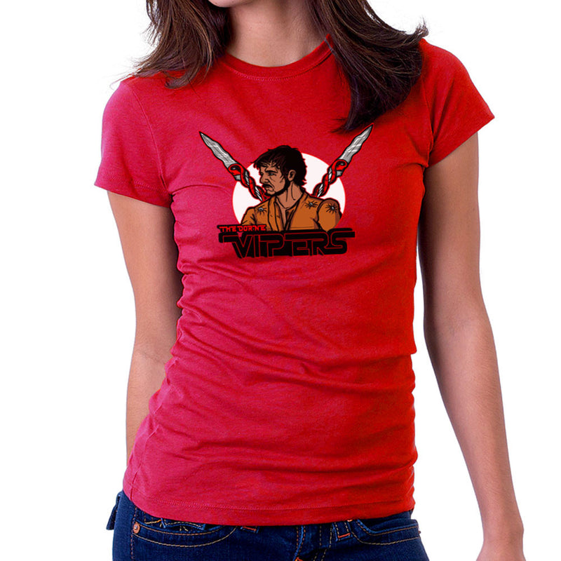 The Dorne Vipers Prince Oberyn Martell Red Viper Game of Thrones Women's T-Shirt by AndreusD - Cloud City 7