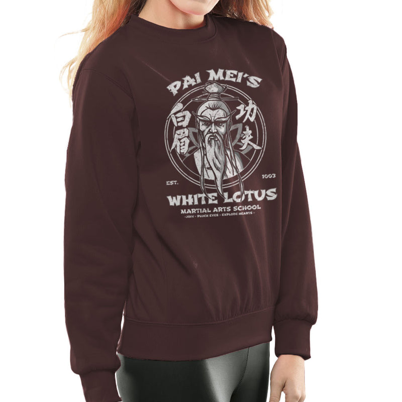 Pai Meis White Lotus Kill Bill Women's Sweatshirt Women's Sweatshirt Cloud City 7 - 12