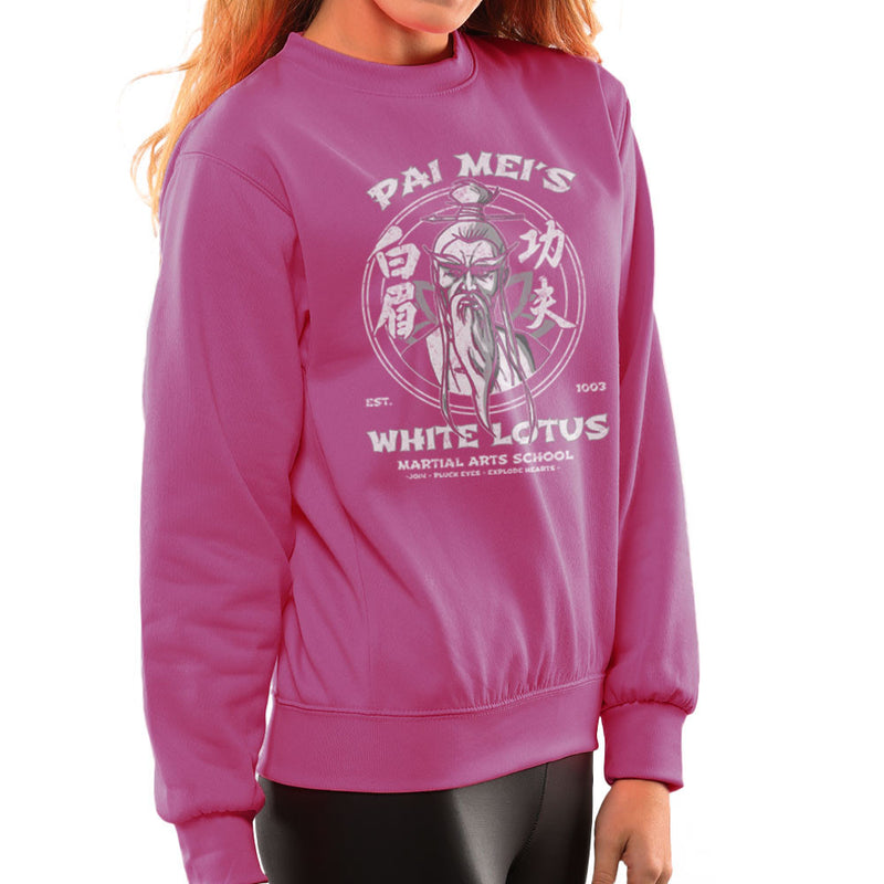 Pai Meis White Lotus Kill Bill Women's Sweatshirt Women's Sweatshirt Cloud City 7 - 20