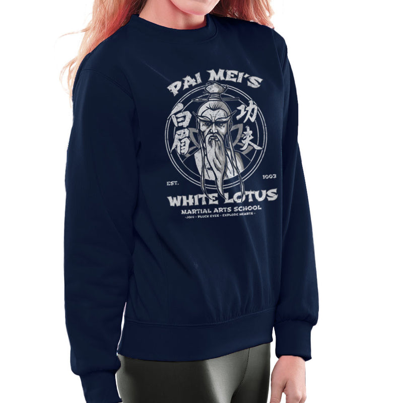 Pai Meis White Lotus Kill Bill Women's Sweatshirt Women's Sweatshirt Cloud City 7 - 7