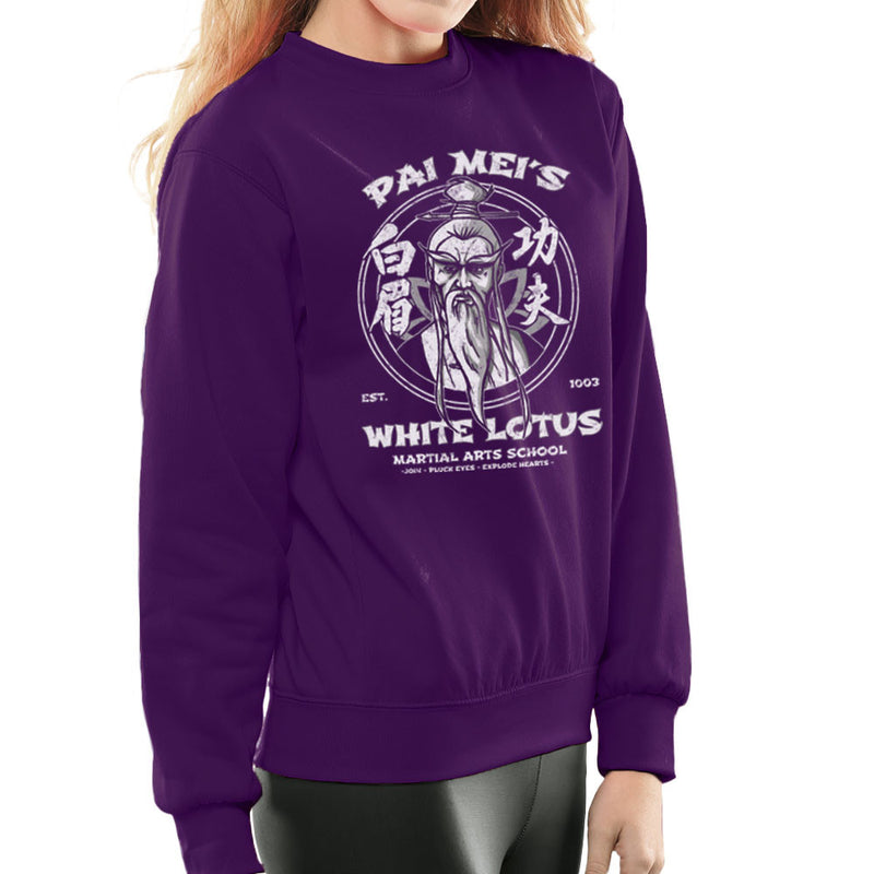 Pai Meis White Lotus Kill Bill Women's Sweatshirt Women's Sweatshirt Cloud City 7 - 19