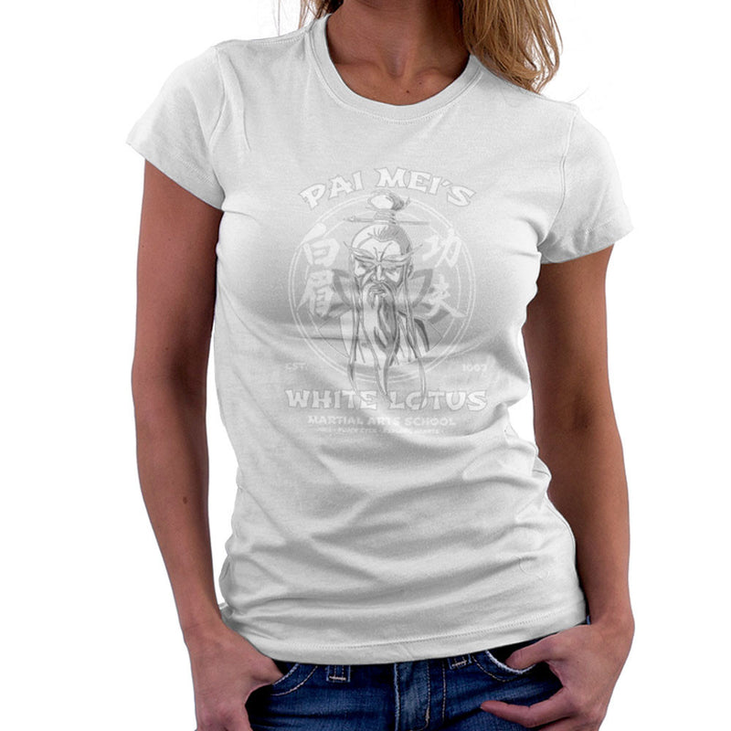 Pai Meis White Lotus Kill Bill Women's T-Shirt Women's T-Shirt Cloud City 7 - 6
