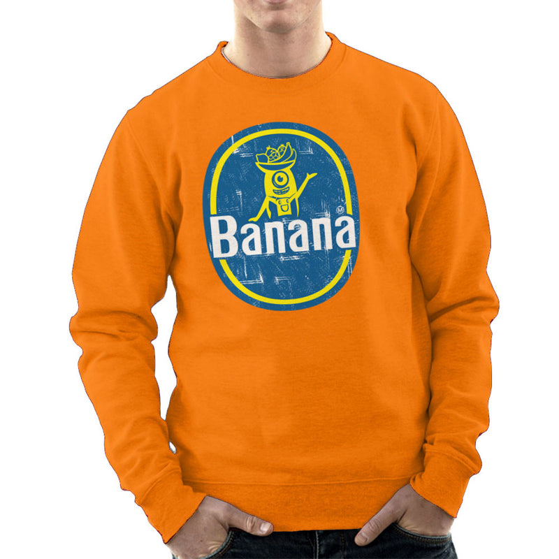 BANANAAAAAAA Minions Banana Sticker Stuart Men's Sweatshirt by Kempo24 - Cloud City 7