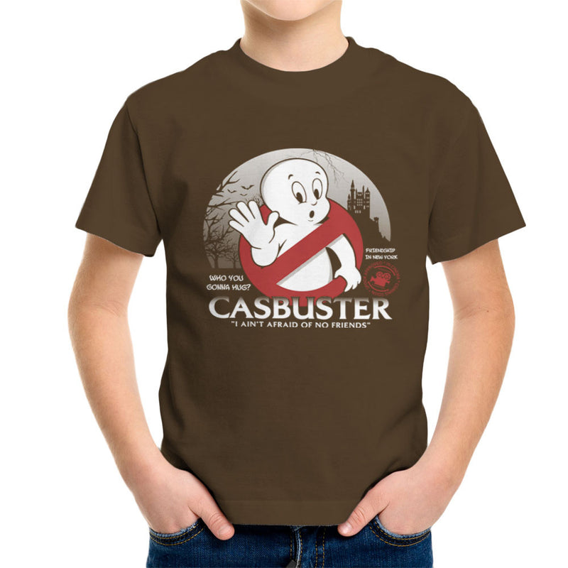 Casbuster Casper the Friendly Ghost Ghostbusters Kid's T-Shirt by Kempo24 - Cloud City 7