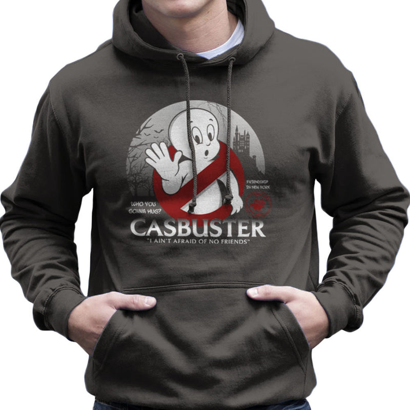 Casbuster Casper the Friendly Ghost Ghostbusters Men's Hooded Sweatshirt by Kempo24 - Cloud City 7
