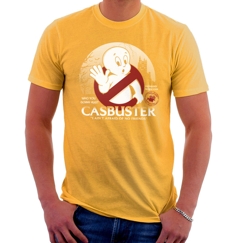 Casbuster Casper the Friendly Ghost Ghostbusters Men's T-Shirt Men's T-Shirt Cloud City 7 - 18