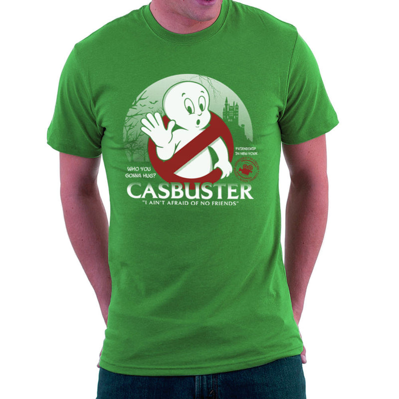 Casbuster Casper the Friendly Ghost Ghostbusters Men's T-Shirt Men's T-Shirt Cloud City 7 - 14