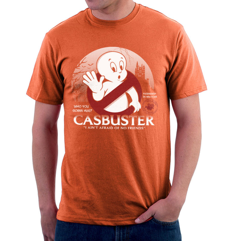 Casbuster Casper the Friendly Ghost Ghostbusters Men's T-Shirt by Kempo24 - Cloud City 7