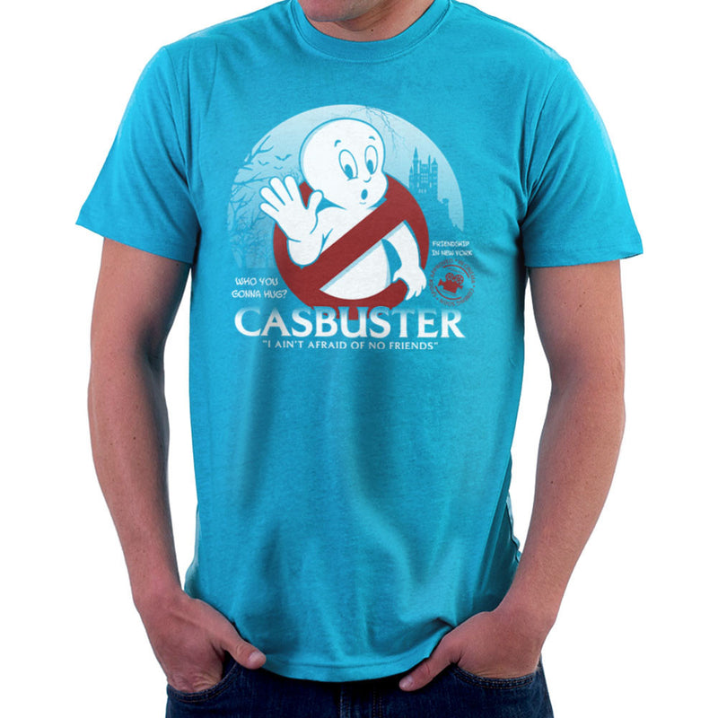 Casbuster Casper the Friendly Ghost Ghostbusters Men's T-Shirt Men's T-Shirt Cloud City 7 - 10