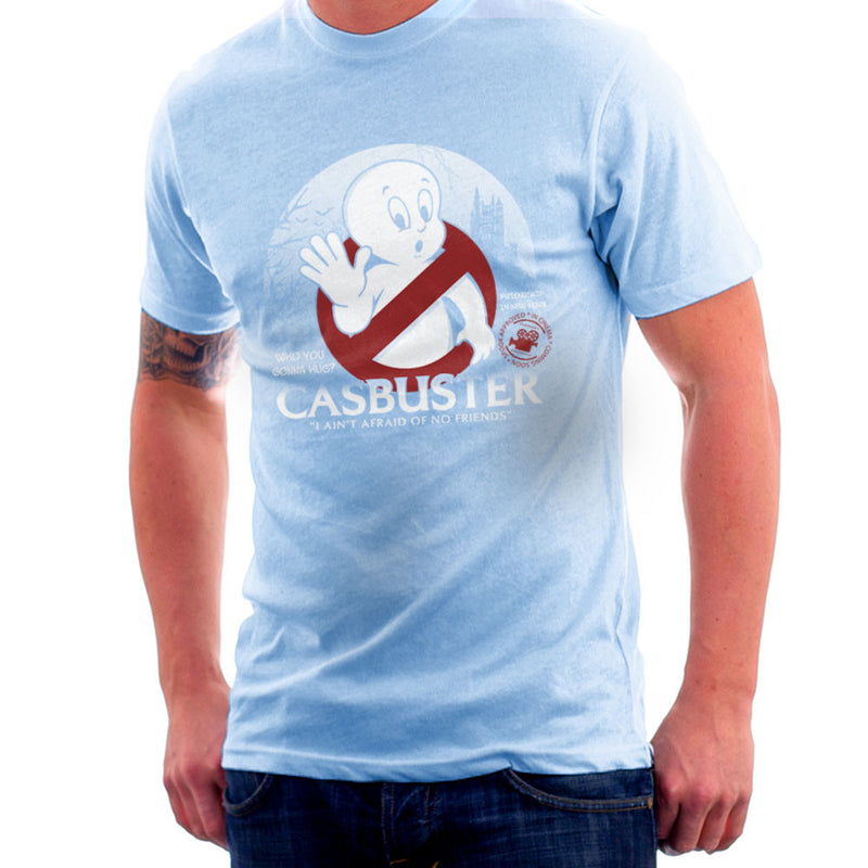 Casbuster Casper the Friendly Ghost Ghostbusters Men's T-Shirt Men's T-Shirt Cloud City 7 - 11