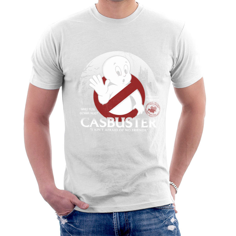 Casbuster Casper the Friendly Ghost Ghostbusters Men's T-Shirt Men's T-Shirt Cloud City 7 - 6