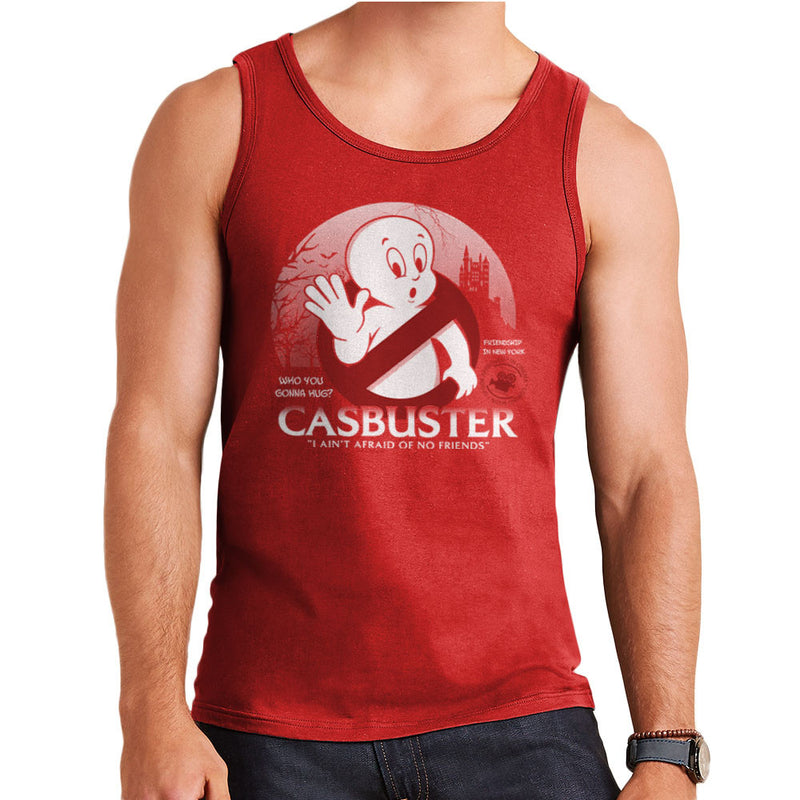 Casbuster Casper the Friendly Ghost Ghostbusters Men's Vest by Kempo24 - Cloud City 7
