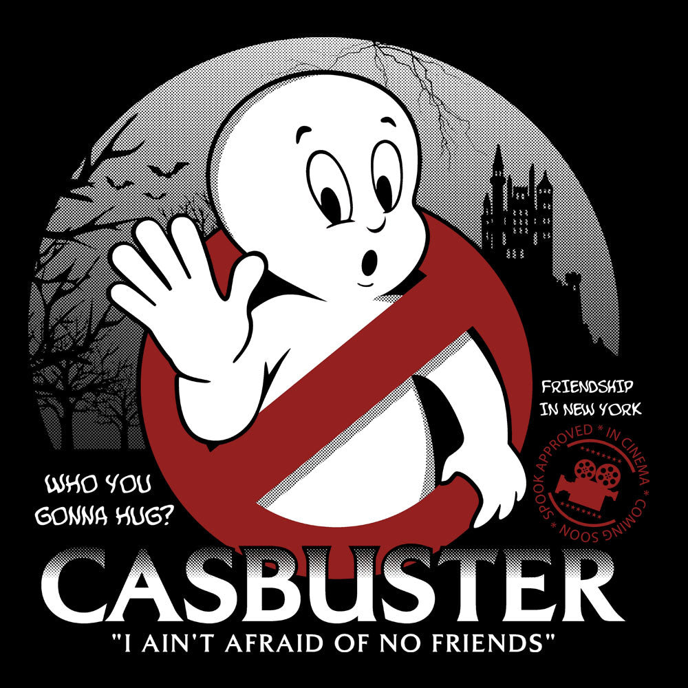 Casbuster Casper the Friendly Ghost Ghostbusters design Cloud City 7 - 1