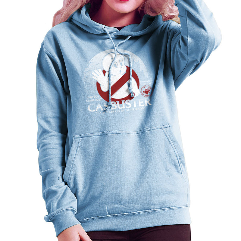 Casbuster Casper the Friendly Ghost Ghostbusters Women's Hooded Sweatshirt by Kempo24 - Cloud City 7