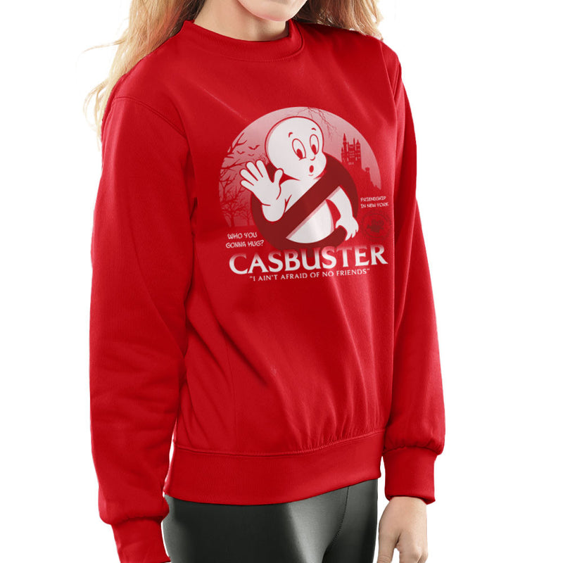 Casbuster Casper the Friendly Ghost Ghostbusters Women's Sweatshirt Women's Sweatshirt Cloud City 7 - 16