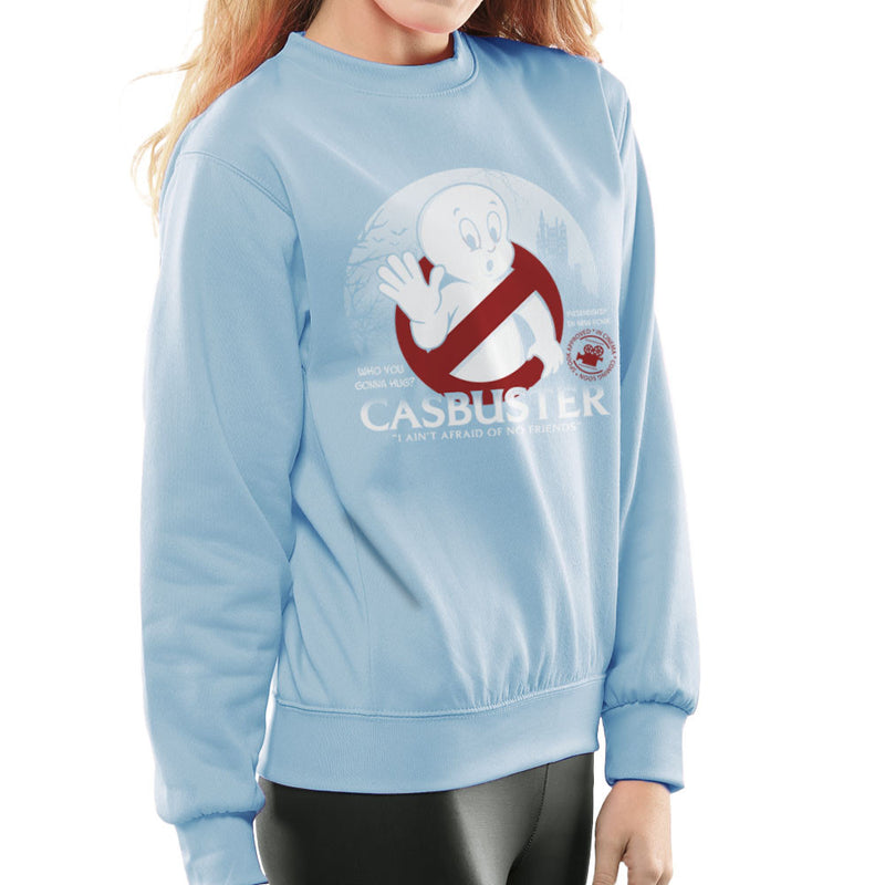 Casbuster Casper the Friendly Ghost Ghostbusters Women's Sweatshirt Women's Sweatshirt Cloud City 7 - 11