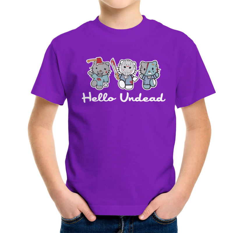 Hello Kitty Undead Zombies Kid's T-Shirt by Kempo24 - Cloud City 7