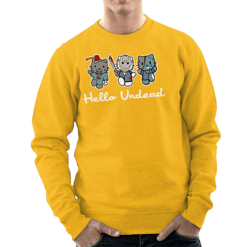 Hello Kitty Undead Zombies Men's Sweatshirt by Kempo24 - Cloud City 7