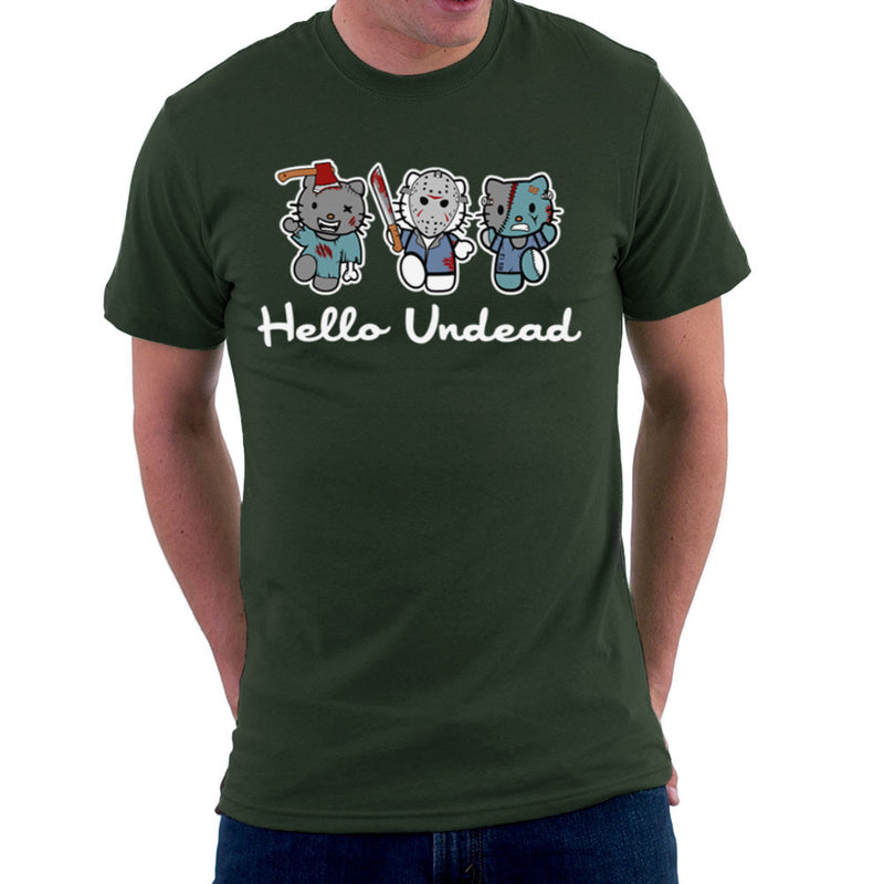Hello Kitty Undead Zombies Men's T-Shirt by Kempo24 - Cloud City 7