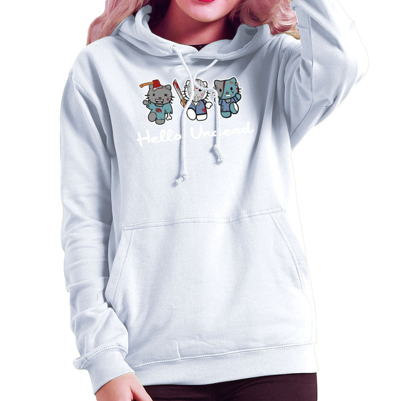 Hello Kitty Undead Zombies Women's Hooded Sweatshirt by Kempo24 - Cloud City 7
