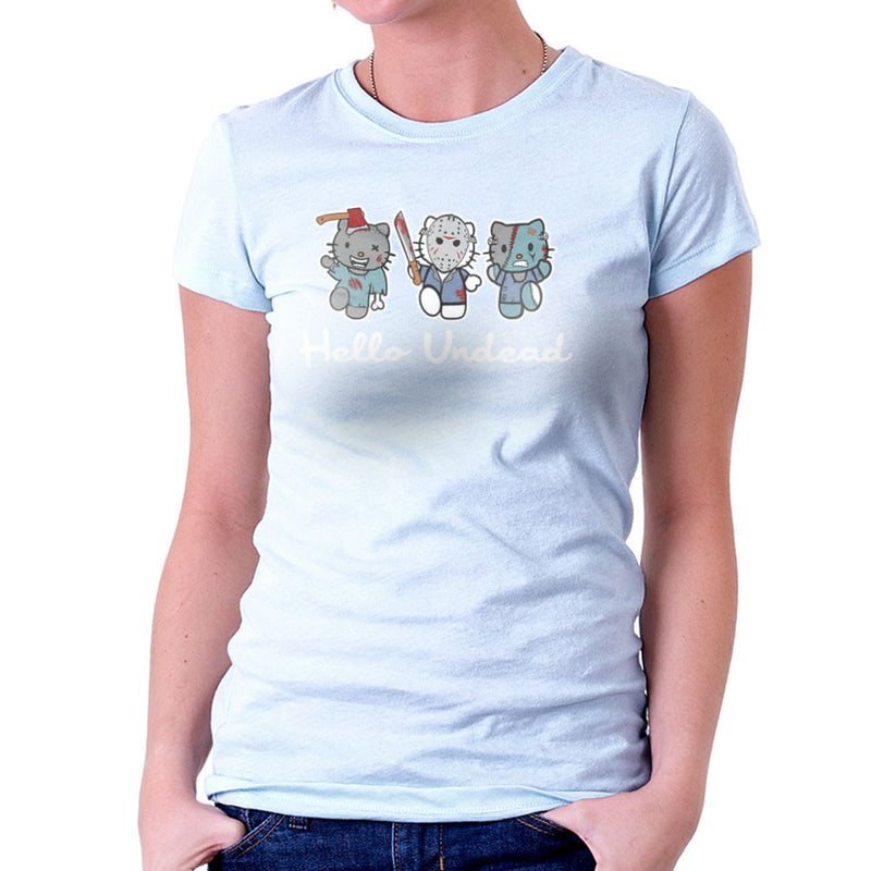 Hello Kitty Undead Zombies Women's T-Shirt by Kempo24 - Cloud City 7