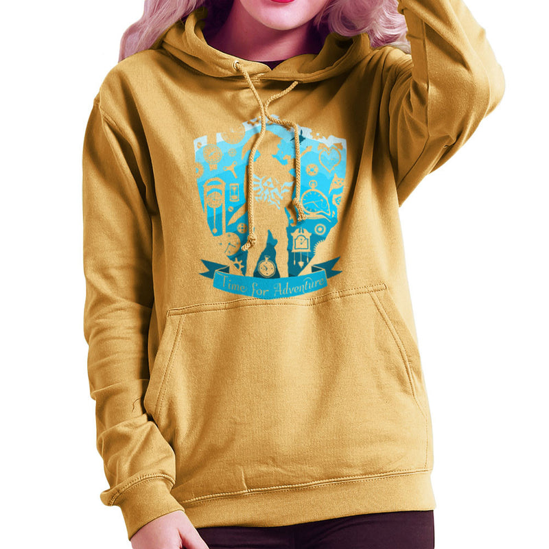 Time for Adventure Link Zelda Badge Women's Hooded Sweatshirt Women's Hooded Sweatshirt Cloud City 7 - 18