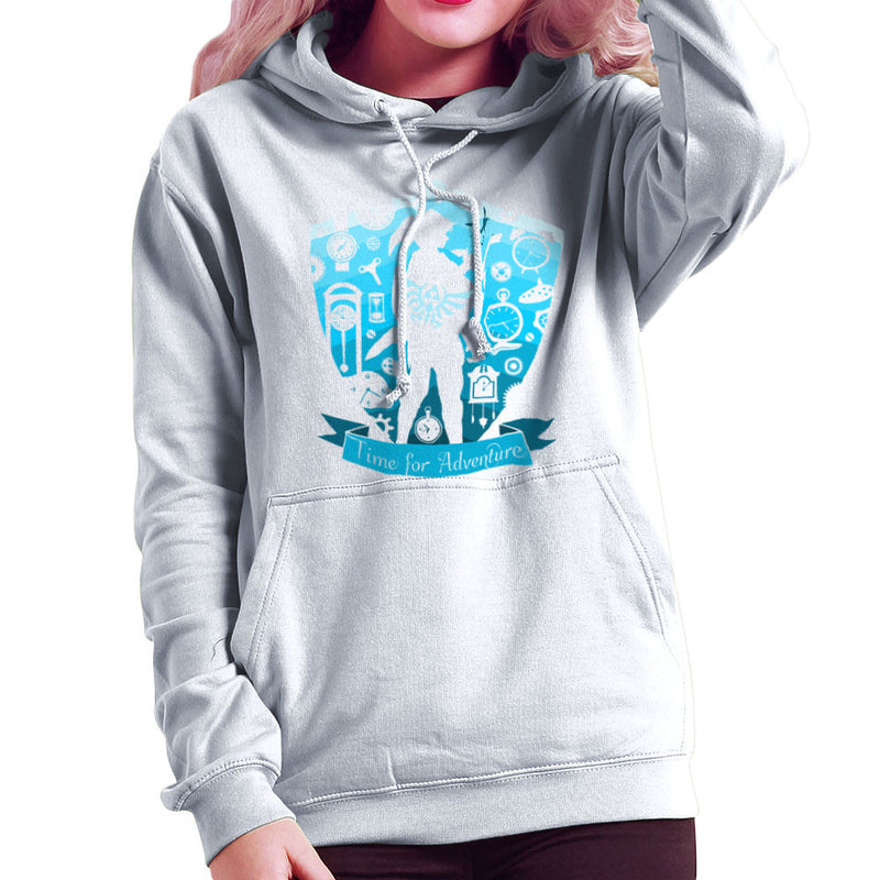 Time for Adventure Link Zelda Badge Women's Hooded Sweatshirt Women's Hooded Sweatshirt Cloud City 7 - 6